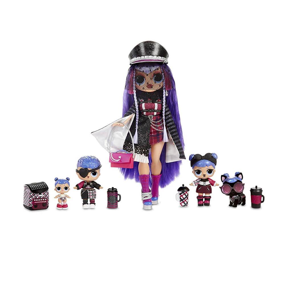 Кукла LOL Bigger Surprise Winter Disco (фиолетовый чемоданчик с OMG куклами) - 4